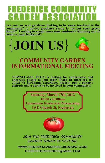 The Frederick Community Garden Association