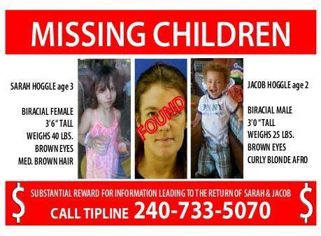 Help Find Sarah & Jacob Hoggle.